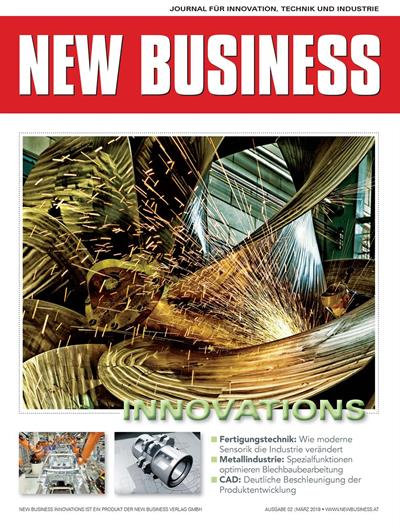 Cover: NEW BUSINESS Innovations - NR. 02, MÄRZ 2019