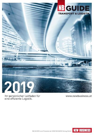 Cover: NEW BUSINESS Guides - TRANSPORT- & LOGISTIK GUIDE 2019
