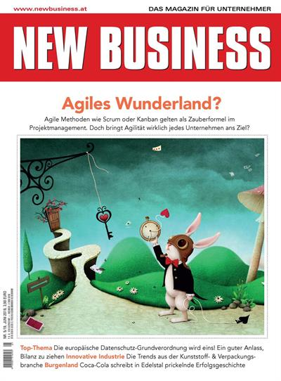 Cover: NEW BUSINESS - NR. 5, JUNI 2019