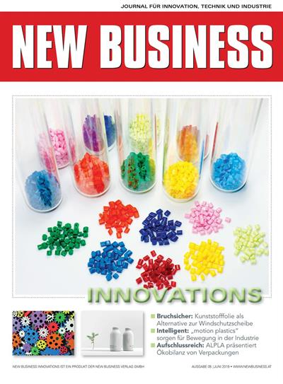 Cover: NEW BUSINESS Innovations - NR. 05, JUNI 2019