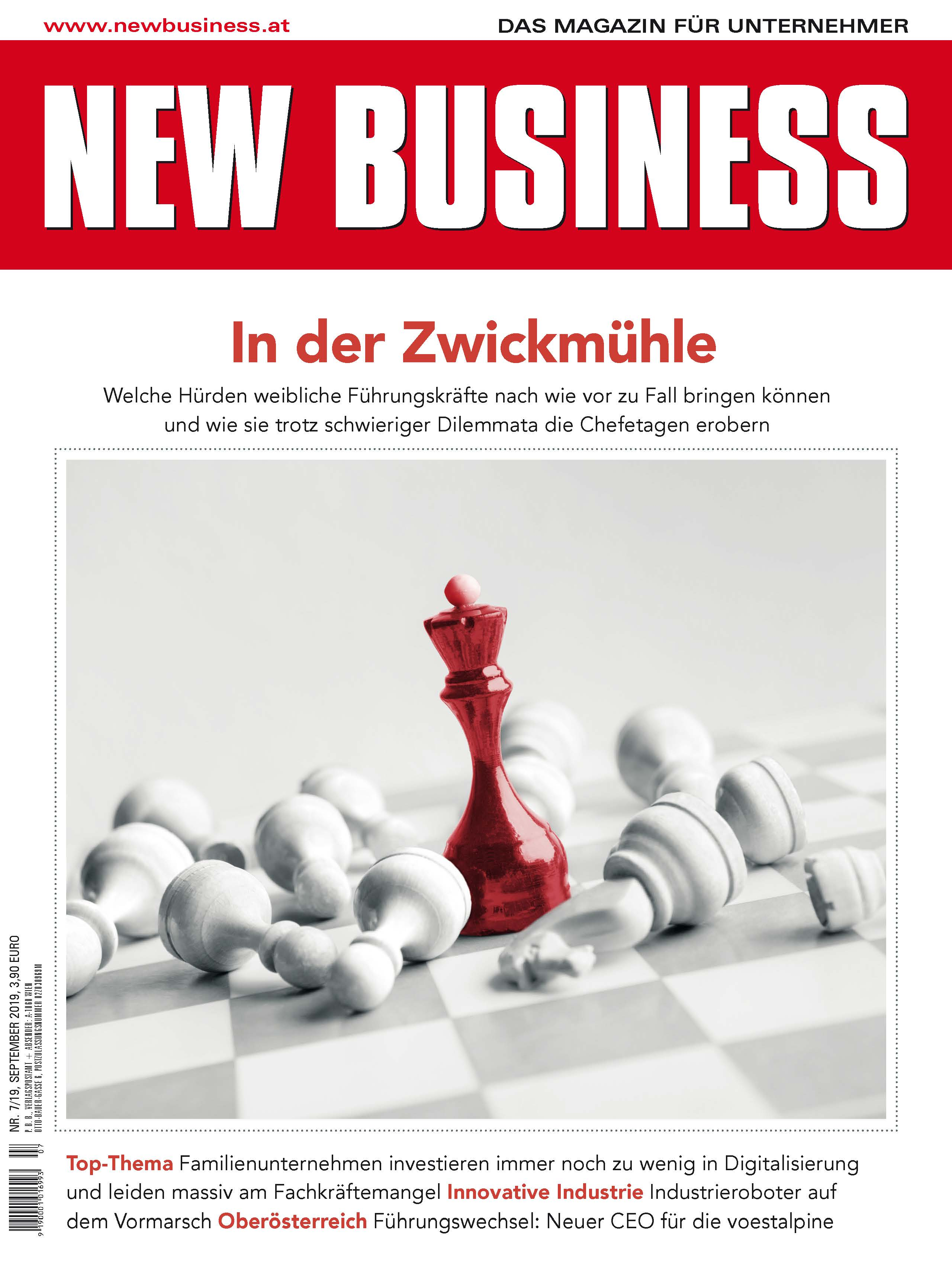 Cover: NEW BUSINESS - NR. 7, SEPTEMBER 2019