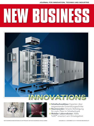 Cover: NEW BUSINESS Innovations - NR. 09, NOVEMBER 2019