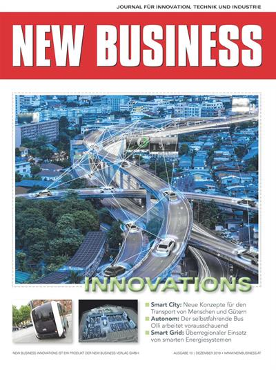 Cover: NEW BUSINESS Innovations - NR.10, DEZEMBER 2019