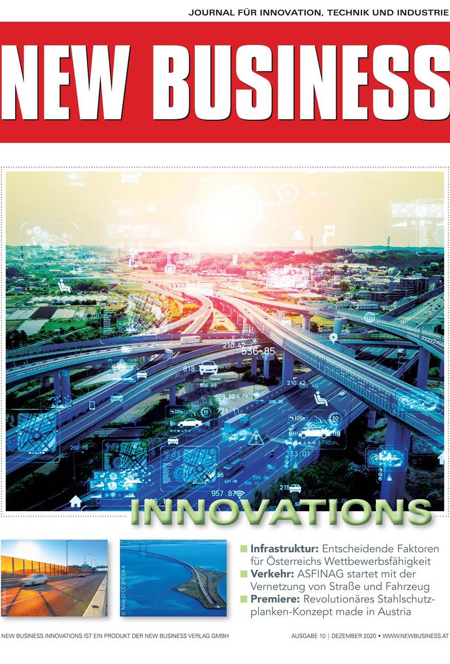 Cover: NEW BUSINESS Innovations - NR.10, DEZEMBER 2020
