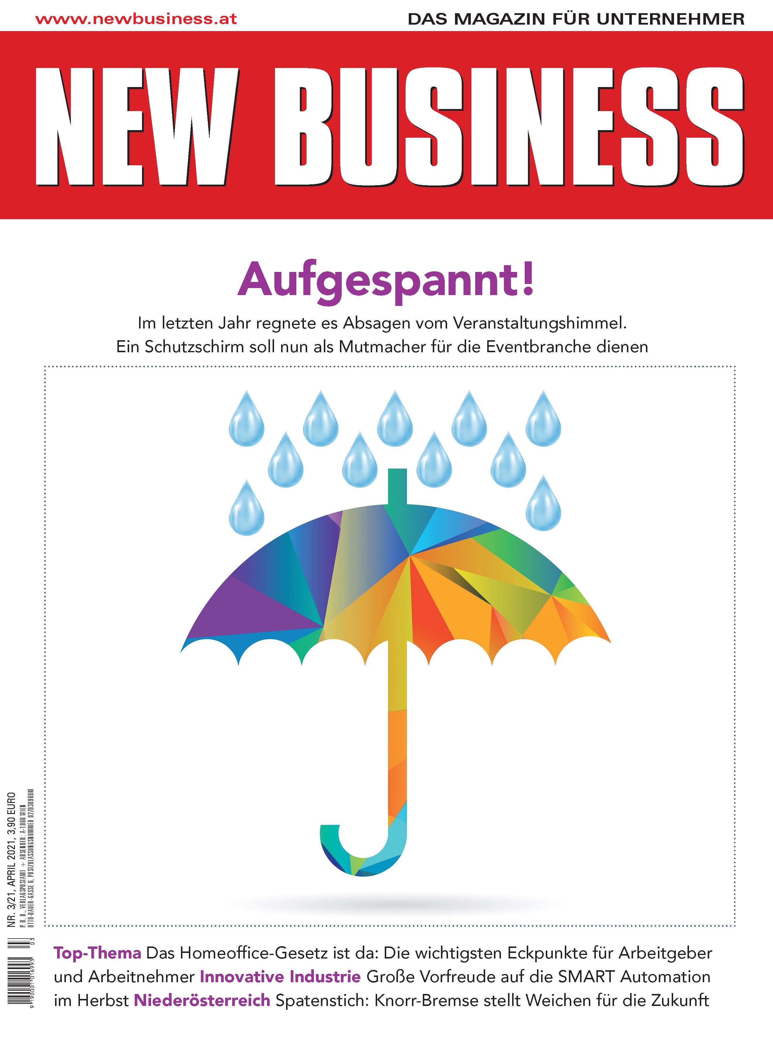 Cover: NEW BUSINESS - NR. 3, APRIL 2021